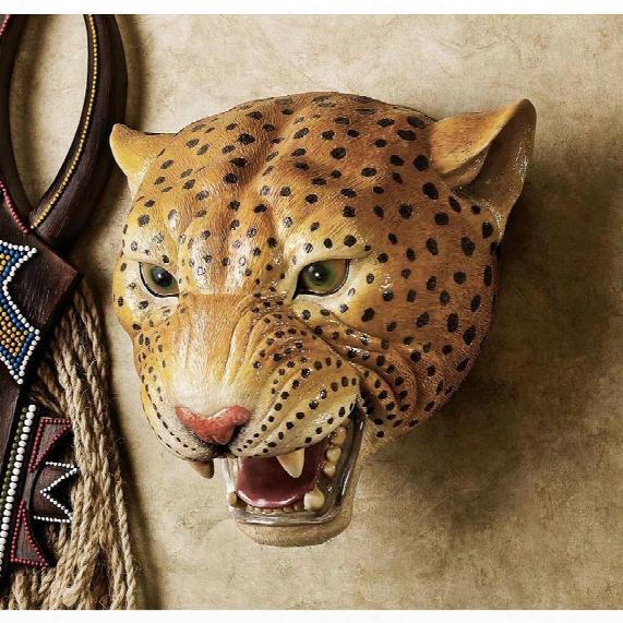 The Jungle Predator Sculptural Wall Trophy