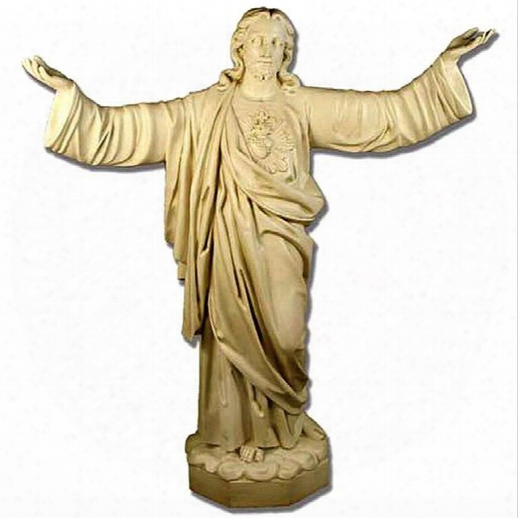 The Sacred Heart Of Jesus Religious Statue