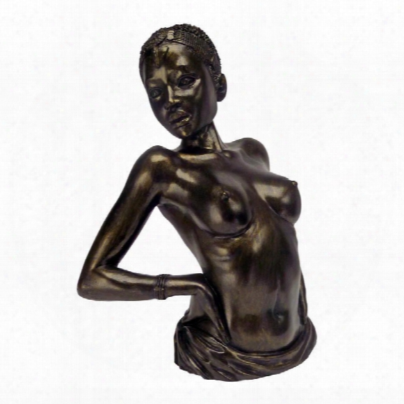 "The Sensual Stretch"" Nude Female Statue"