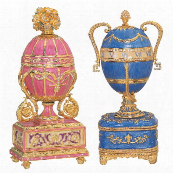 The St. Petersburg Imperial Enameled Egg Collection: Katrina & Katya
