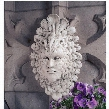 Presence of Carnevale: Greenman Wall Sculpture