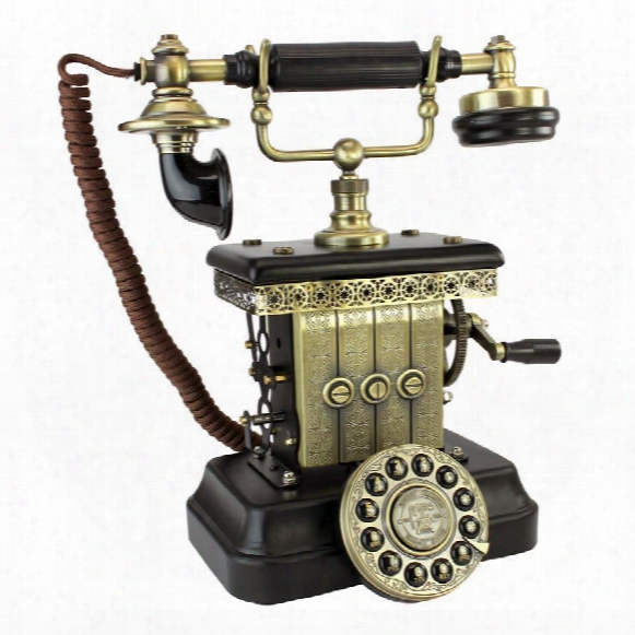 Victorian Magneto 1923 Reproduction Telephone