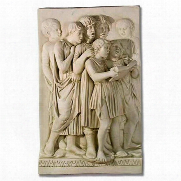 Voices To Heaven Cantoria Religious Sculptural Wall Frieze