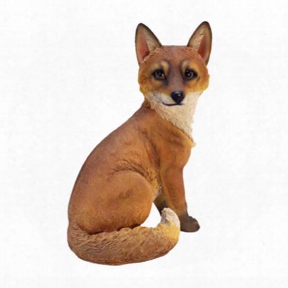 Woodie, The Woodland Fox Garden Statue