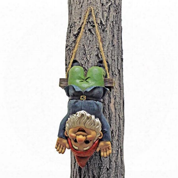 Alfie The Acrobat: Swinging Gnome Statue