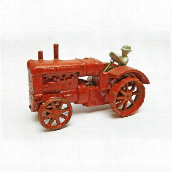 Allis Chalmers Replica Cast Iron Farm Toy Tractor