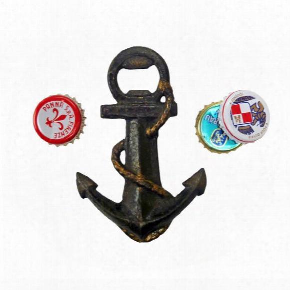 Anchors Aweigh Cast Iron Bottle Opener