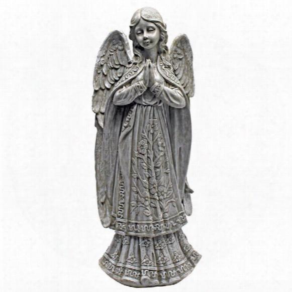 Angelic Messenger Garden Angel Statue