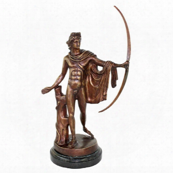 Apollo Belvedere Quality Lost Wax Bronze Statue