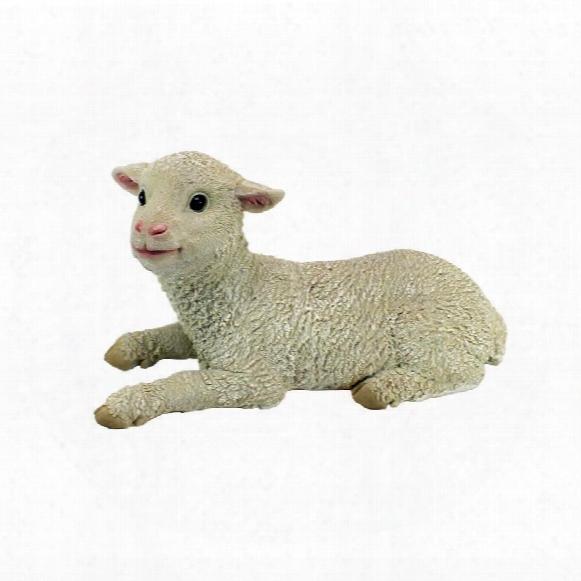 "Aries Sitting Lamb"" Statue"
