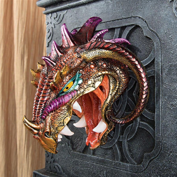 Astaroth, Prince Of Hell Dragon Wall Sculpture