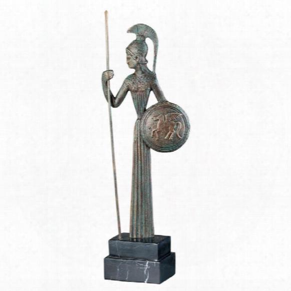 Athena Hellenistic Ironwork Sculpture