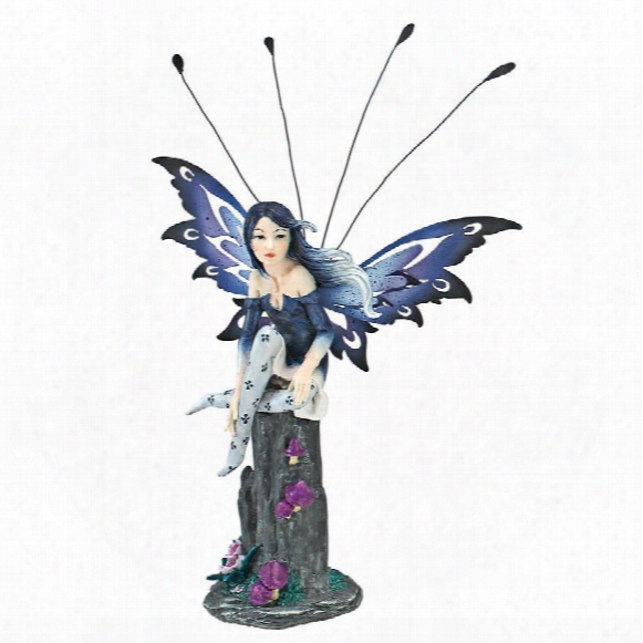 Azure, The Pepperwand Fairy Statue