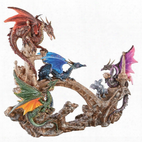 Battle Of Valhalla Dragon Statue