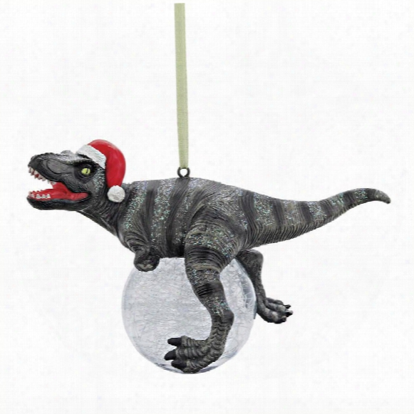 Blitzer, The T-rex Holiday Ornament