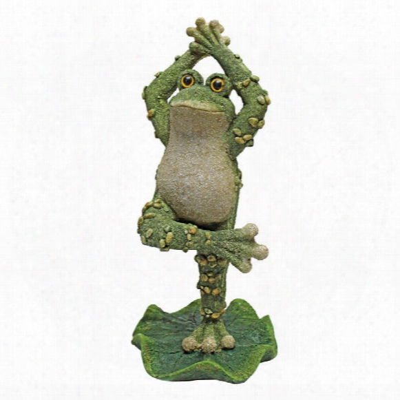 Boogie Down, Dancing Frog Statues: Hands Up