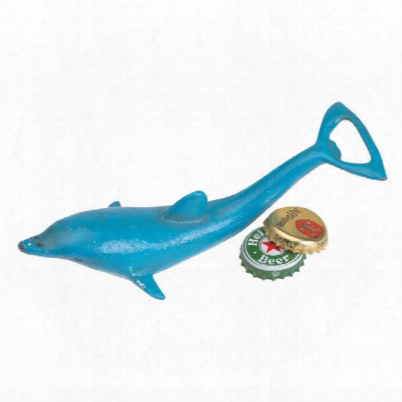 By The Sea Dolphin Bottle Opener