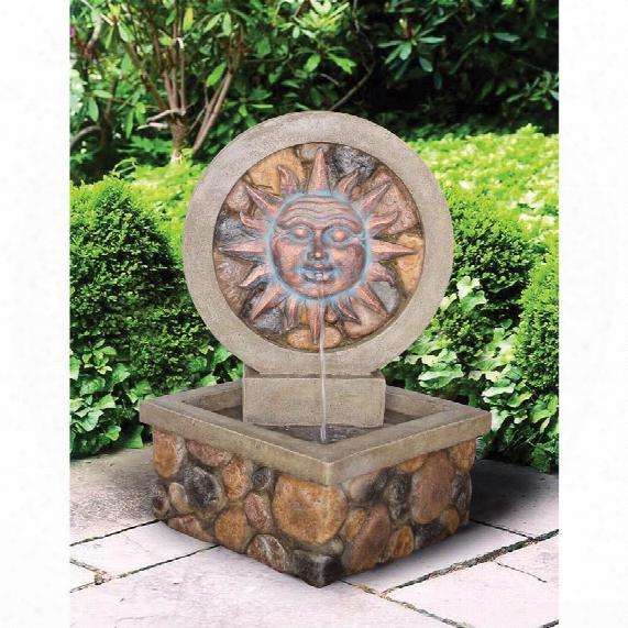 Chapoteo Del Sol Sculptural Fountain