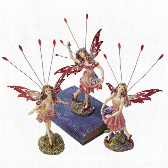 "Corsstweed Meadow"" Victorian Fairy Statue Collection"