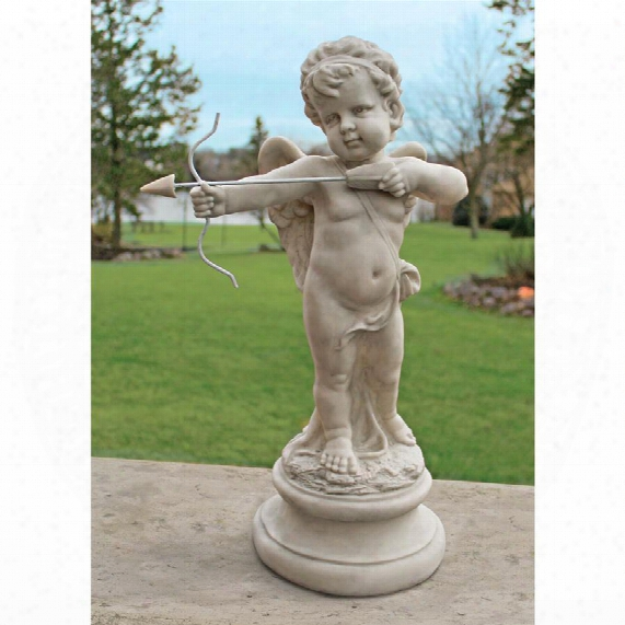 "Cupid's Message Of Love"" Statue"