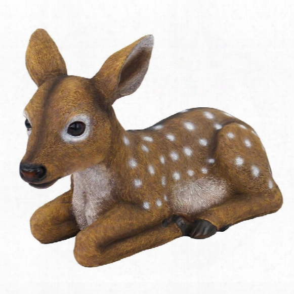 """Darby, The Forest Fawn"""" Baby Deer Statue"""