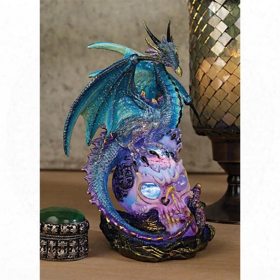 """Dragon Assassin"""" Illuminated Sculpture"""