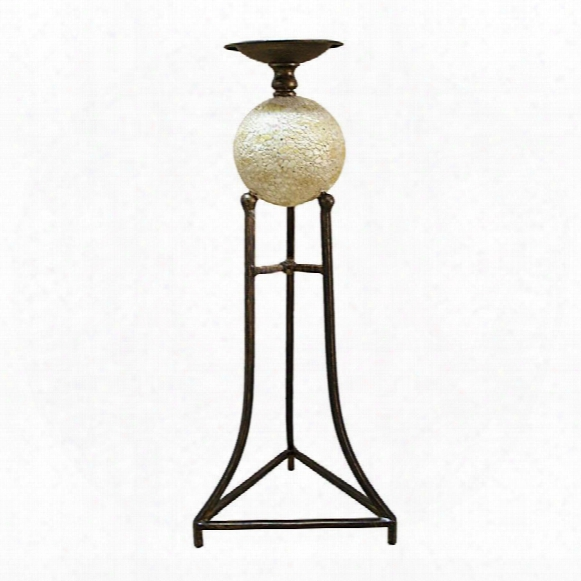 "Elevated Sphere 18""candlestick"