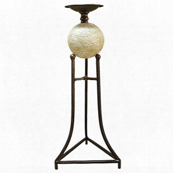 "Elevated Sphere 20""candlestick"