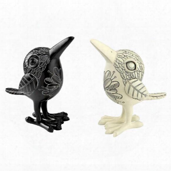 Elusive Ki-ki Bird Statues By Candice Pennington