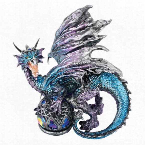 Fanged Shadow Gothic Dragon Statue