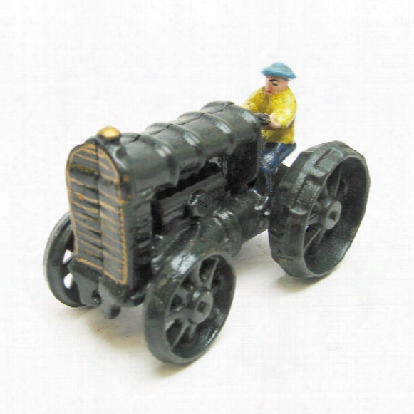 Fordson Replica Cast Iron Farm Toy Tractor