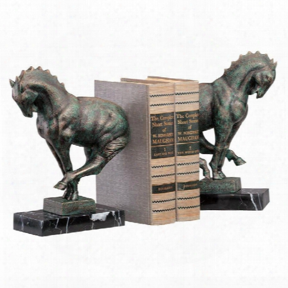 Full Gallop Bookend Set