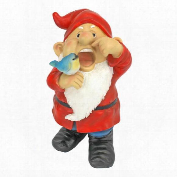 Gezundheit Gunther, Sneezing Garden Gnome Statue