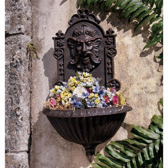 Greenmansculptural Garden Wall Font