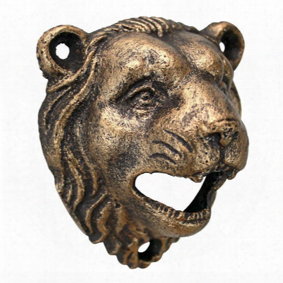 Growling Lion Cast Iron Bottle Opener