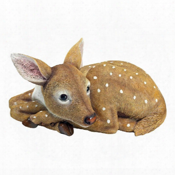 "Hershel, The Forest Fawn"" Baby Deer Statue"
