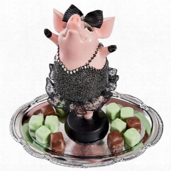 Hog Heaven Twinkle Toe Pig Statue