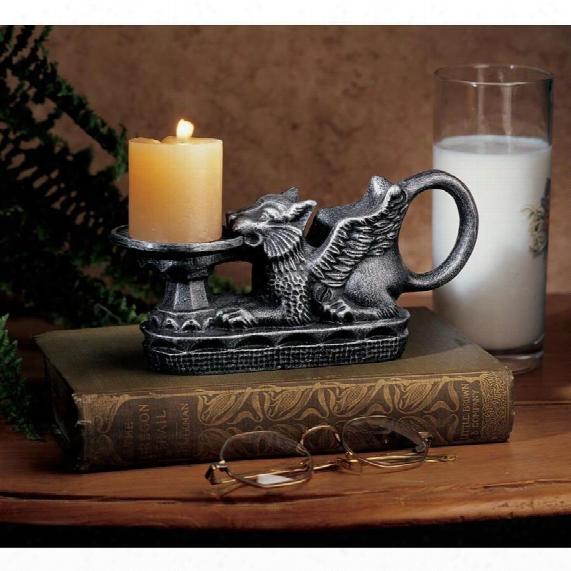 Hortense Castle Gryphon  Candleholder