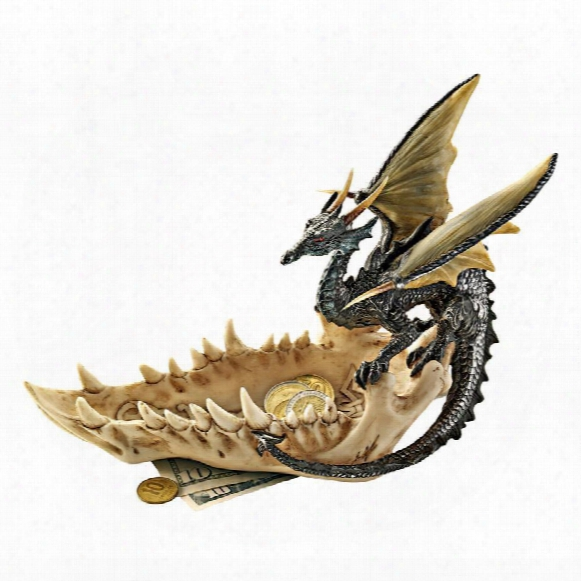 """Jaw Of The Dragon"""" Offering Dish"""