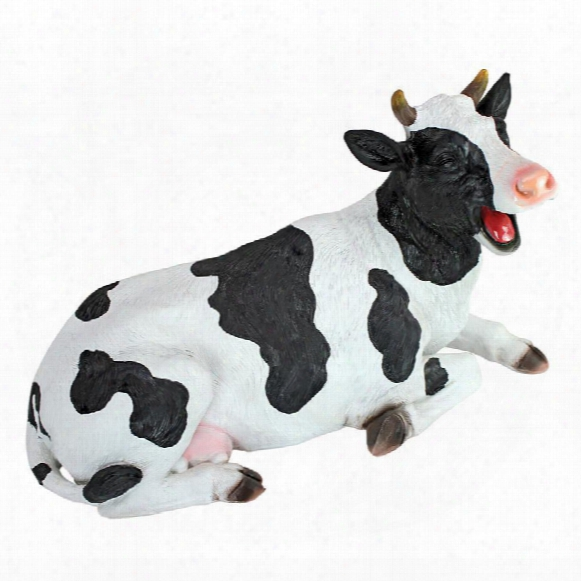Laughing Cow Statue