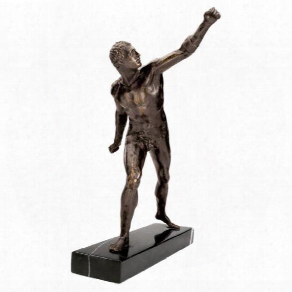 Le Gladiateur Borghese Sculpture