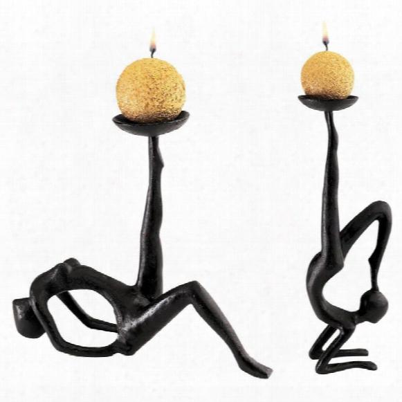 Les Acrobates Sculptural Candleholders