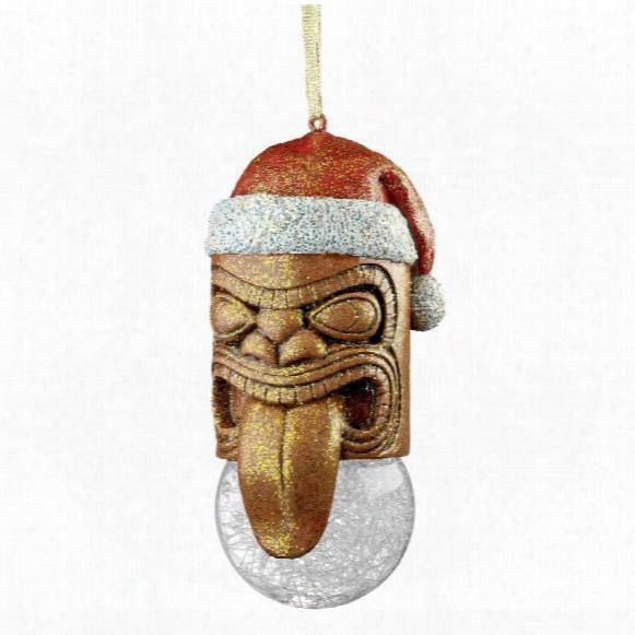 Lono Tiki South Seas Holiday Ornament