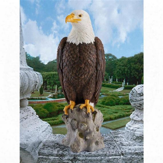 Majestic Mountain Eagle Garden Statue