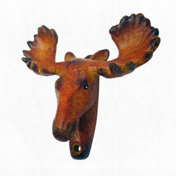 Moose Tracks Cast Iron Bottle Opener: Set Of Two