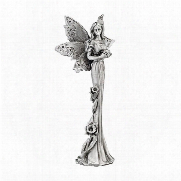 Natures Fairies: Dafffodil Sculptural Fine Pewter Collectible