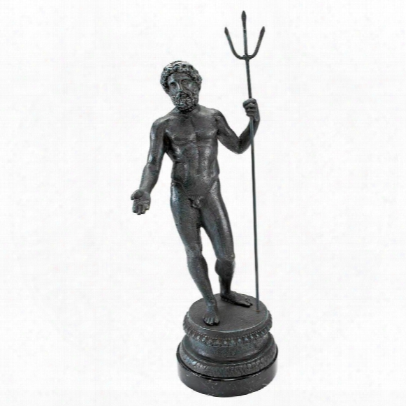 Neptune, God Of The Sea Sculpture