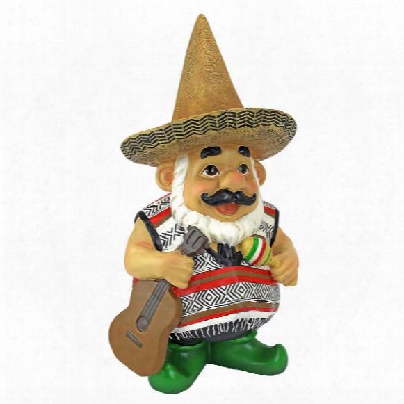Pancho The Mariachi Garden Gnome Statue