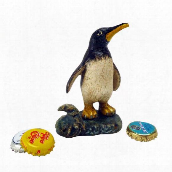 Polar Penguin Cast Iron Bottle Opener