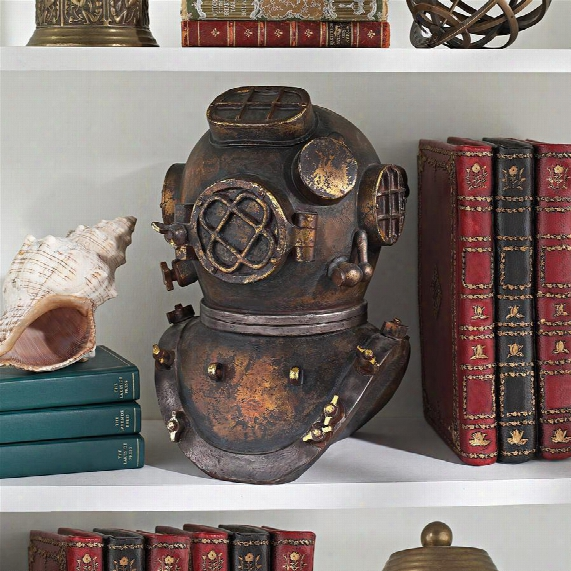 Replica Deep Sea Diver's Helmet Statue